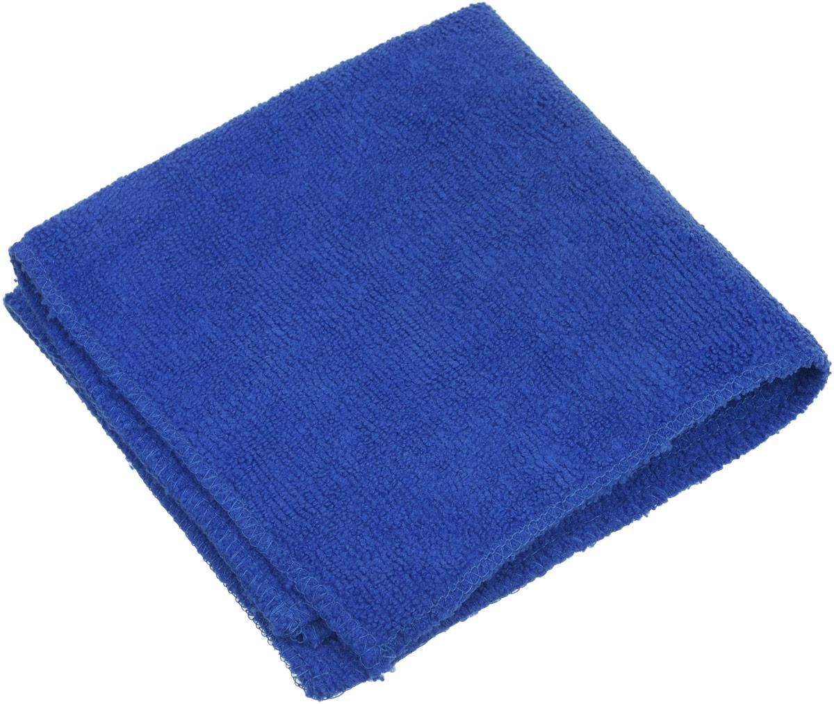 Салфетка для уборки Eva, цвет: синий, 30 х 30 см чехол для сноуборда dakine freestyle цвет черный белый 30 х 16 х 157 см