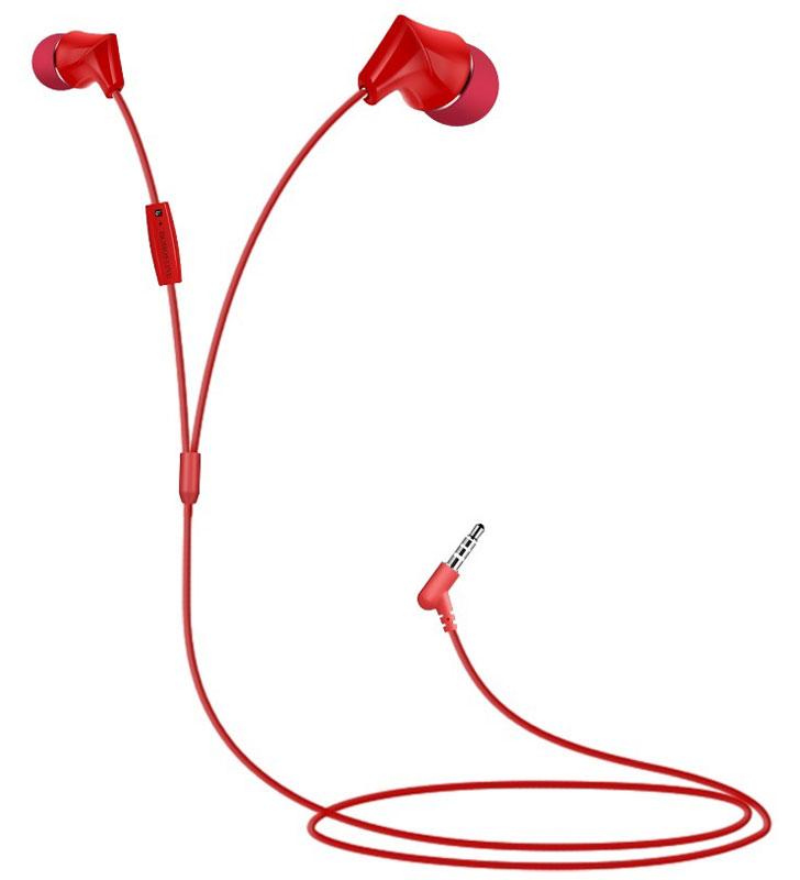 Borofone BM3, Red наушники с микрофоном borofone