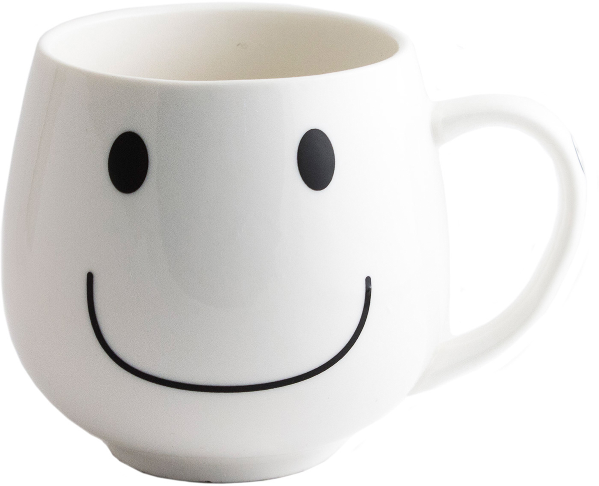 Иногда так важно, чтобы кто-то улыбнулся тебе прямо с утра. С этой задачей прекрасно справляется маленький, но верный помощник - кружка смайл. В любую погоду, в любое время дня, при любых обстоятельствах - это тот, кто поддержит улыбкой. Кружка с рисунком.