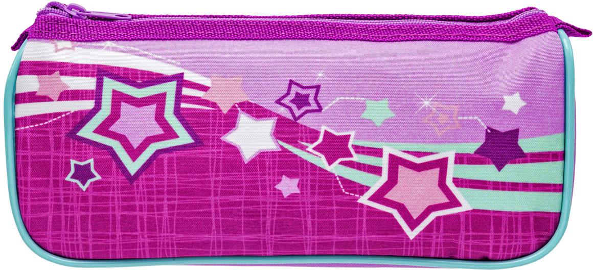 Tiger Family Пенал Favourite Soft Collection цвет розовый00-00044386Пенал на молнии FAVOURITE SOFT COLLECTION, MAGIC STARS. Для девочек 1 отделение, без наполнения Цвет: розовый. Размер: 22.5x7x10 см Дизайн соответствует ранцу 1810/G/TG