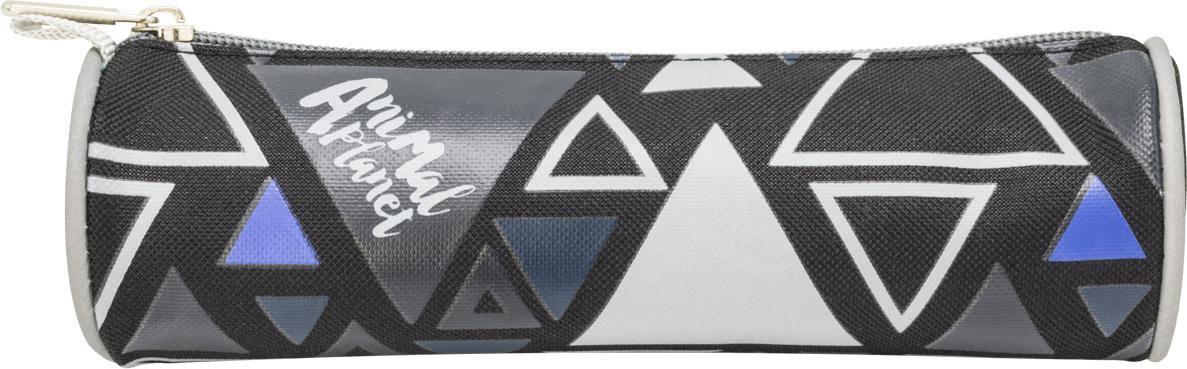 Action! Пенал Animal Planet цвет черный серый00-00045237Пенал-тубус на молнии. Лицензионный дизайн ANIMAL PLANET. Для мальчиков.1 отделение, 1 молния, без наполнения Цвет: черный, серый Размер:20х6 см Соответствует дизайну ранца AP-ASB4614/2/18 и дизайну мешка для обуви AP-ASS4305/2/18