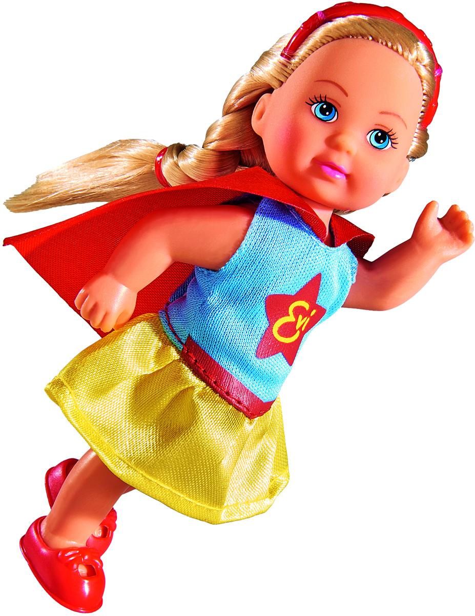 Simba Кукла Еви в костюме супергероя игровая техника simba первый фотоаппарат 12 48