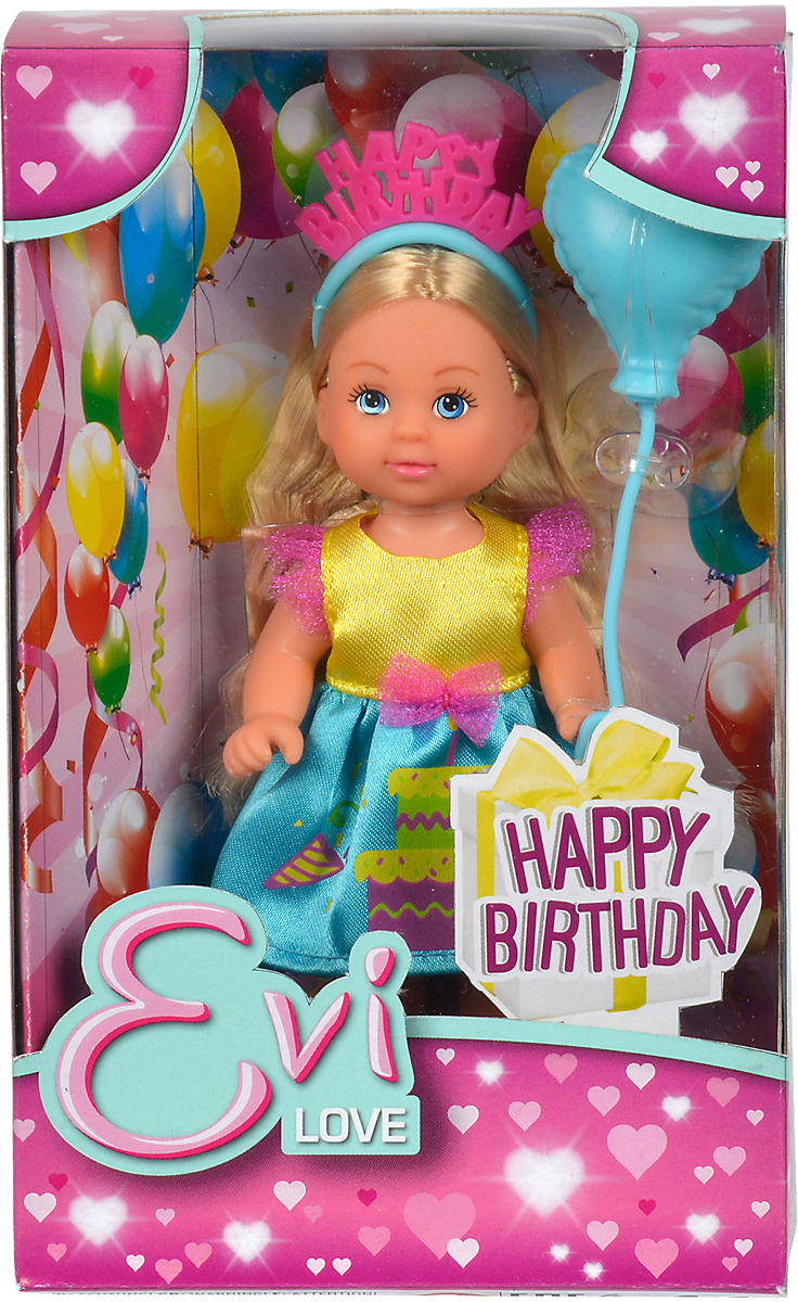 Simba Кукла Еви-именинница simba мини кукла еви в летней одежде цвет розовый