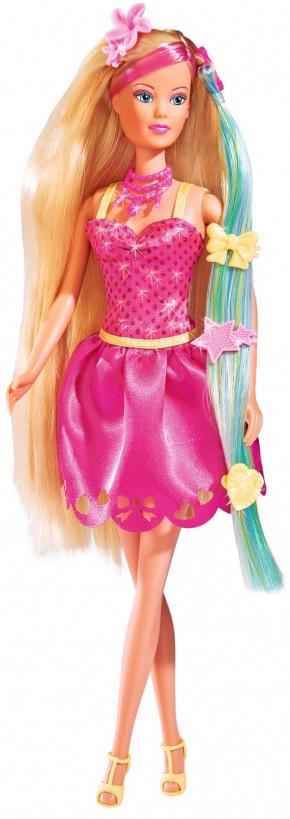 Simba Кукла Штеффи Стильные волосы куклы и одежда для кукол simba кукла штеффи minnie mouse вечеринка