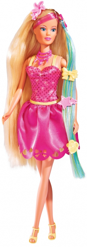 Simba Кукла Штеффи Стильные волосы