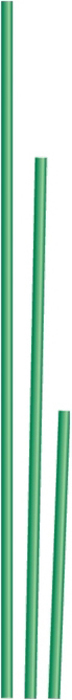 Опора прямая предназначена для поддержки высоких и гибких растений растений или цветов, не позволяется им перегибаться и ломаться.  Выполнена из стали Ст3 в виде трубки, для защиты от коррозии покрытой ПВХ-оболочкой.