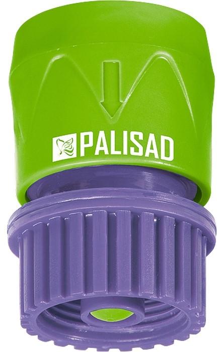Соединитель садовый Palisad, пластмассовый, быстросъемный, внутренняя резьба 3/4, аквастоп адаптер соединитель palisad 65755