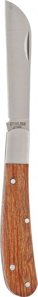 Нож садовый Palisad, складной, с прямым лезвием, 17,3 см нож palisad 79001