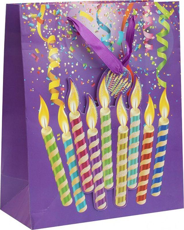 Пакет подарочный Perfect Craft Лучший день, 18 х 24 х 8 см1075-SBОригинальныйподарочный пакетстанет прекрасным дополнением для вашего подарка. Пакет выполнен из качественной плотной бумаги с хорошей печатью, объемные элементы на пакете придают дополнительный яркий акцент.