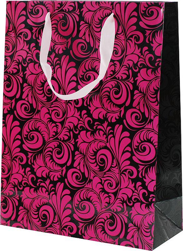 """Оригинальныйподарочный пакет""""Кружевные листья"""" станет прекрасным дополнением для вашего подарка. Пакет выполнен из качественной плотной бумаги с хорошей печатью, объемные элементы на пакете придают дополнительный яркий акцент."""
