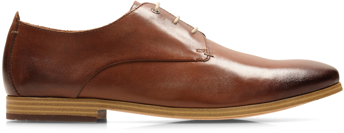 Туфли мужские Clarks Chinley Walk, цвет: коричневый. 26133606. Размер 7 (41)