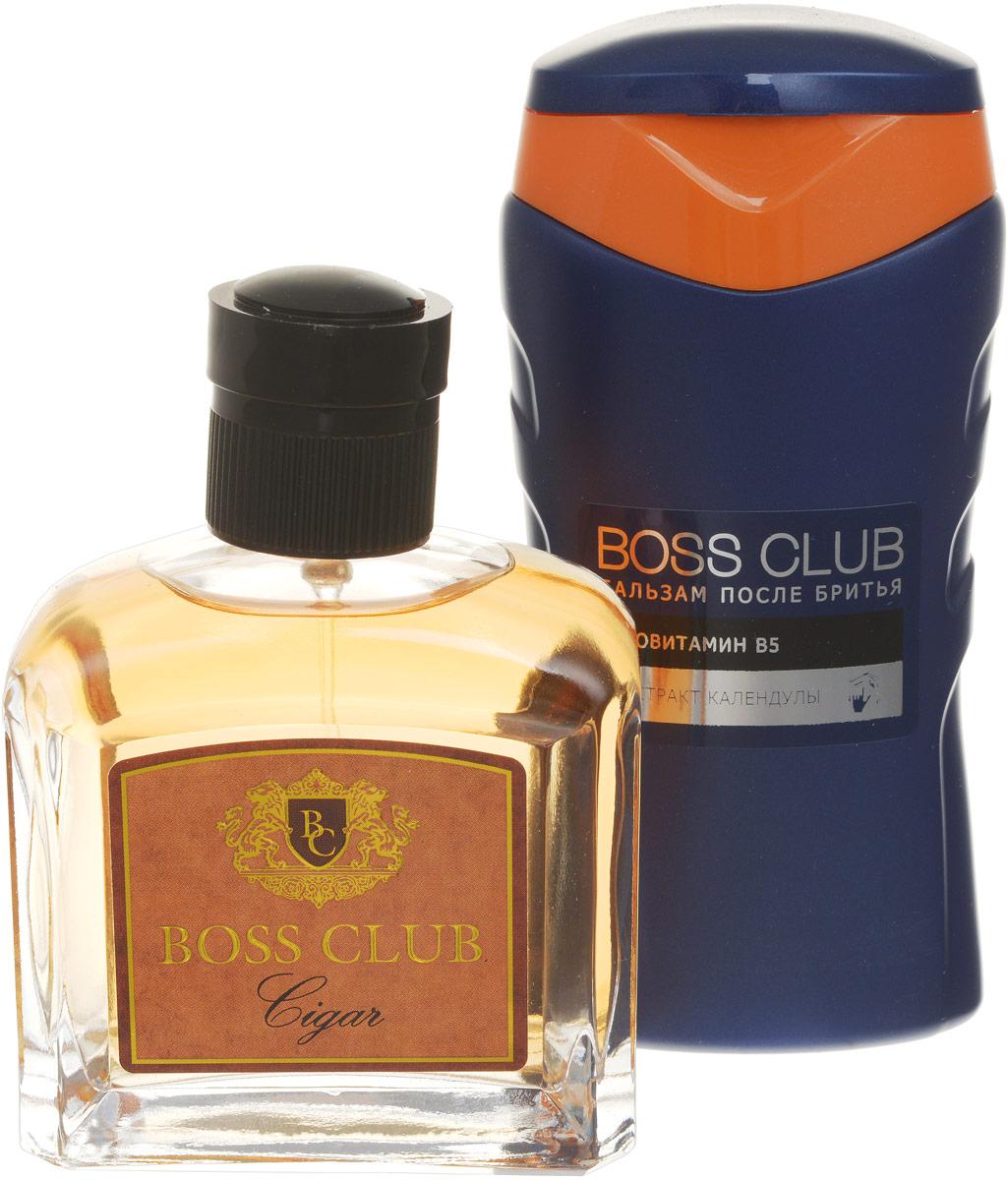 Boss Club Парфюмированный набор: Cigar Туалетная вода, 100 мл + Бальзам после бритья, 150 мл
