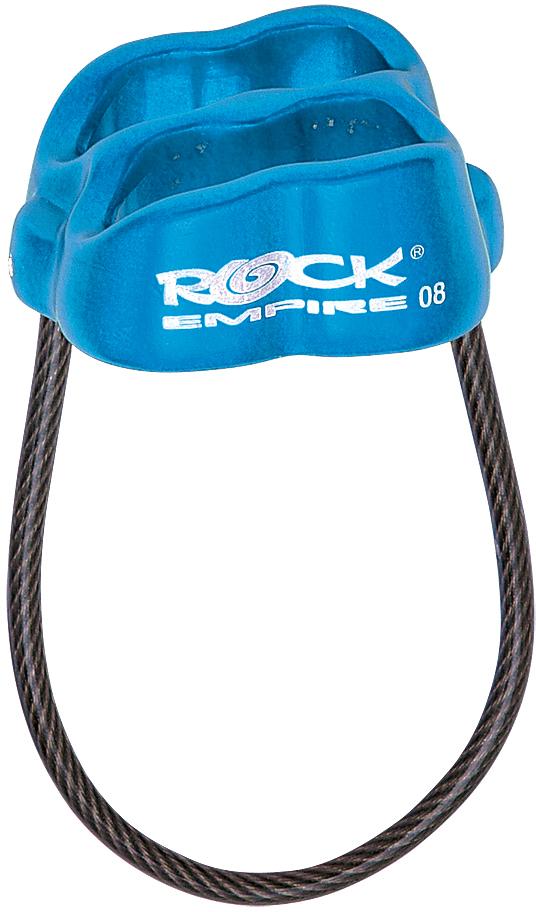 Спусковое устройство Rock Empire Guard , цвет: оранжевый, 7,8-11 мм карабин rock empire indoor 26 мм