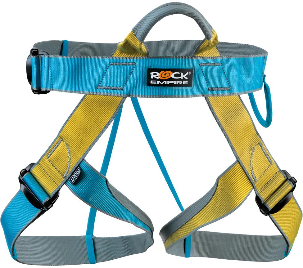 Обвязка спортивная Rock Empire Speedy, цвет: голубой. Размер универсальный карабин rock empire indoor 26 мм