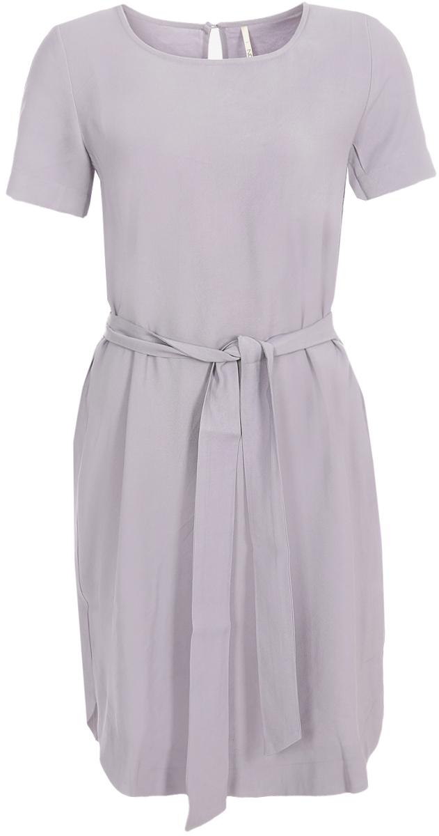 Купить Платье Baon, цвет: сиреневый. B458050_Chives. Размер M (46)