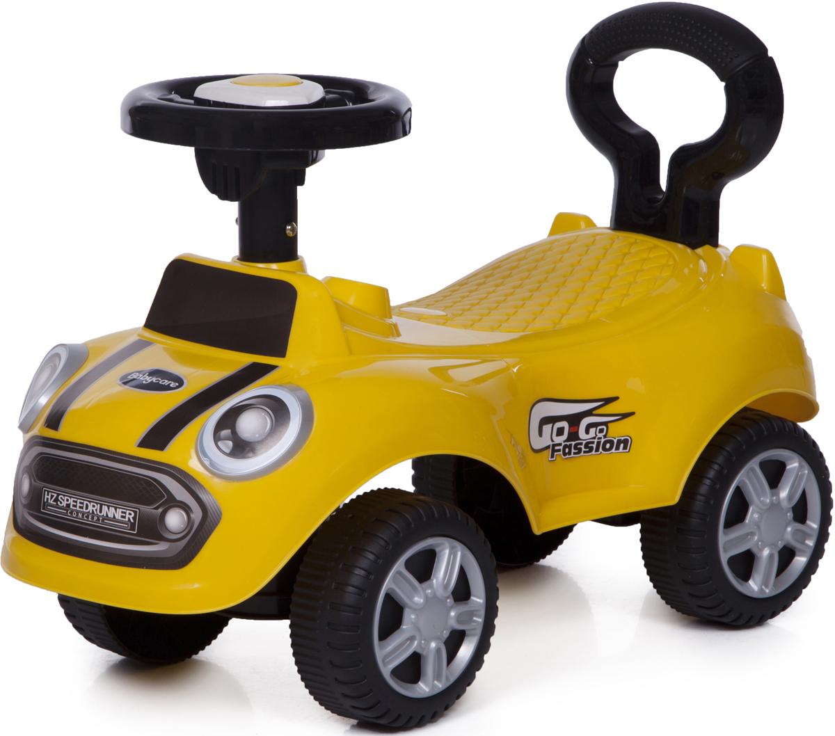 Baby Care Каталка детская Speedrunner цвет желтый