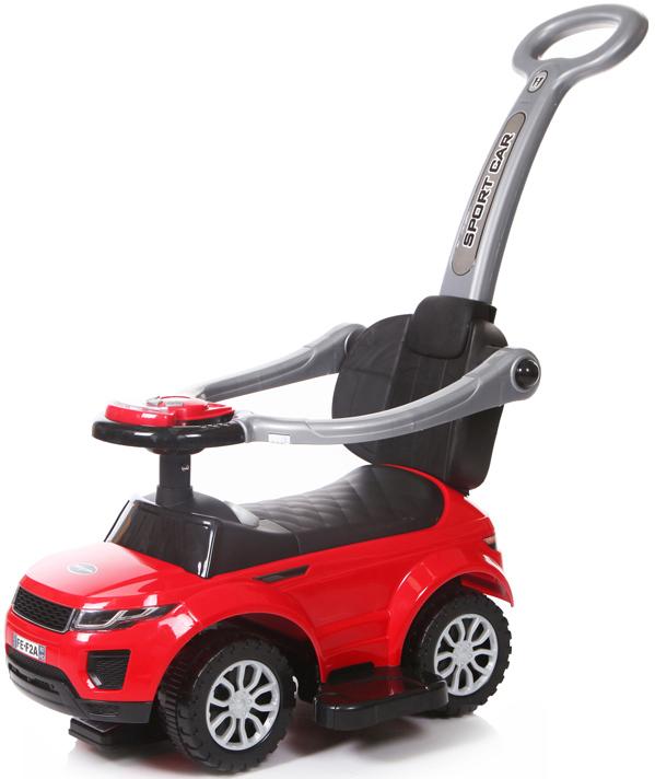 Baby Care Каталка детская Sport car цвет красный эргорюкзак baby care hs 3183 pink