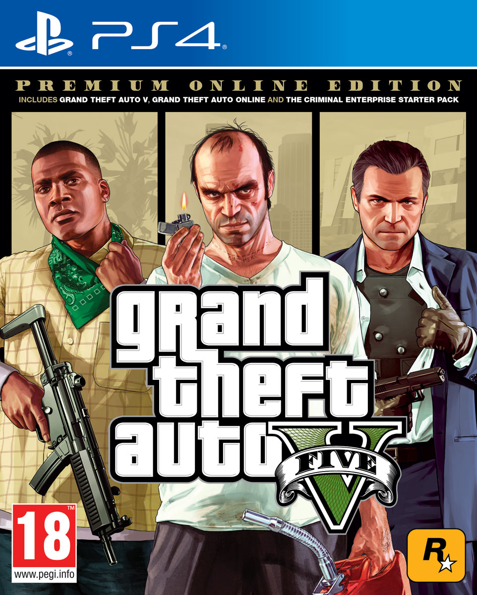 Zakazat.ru Grand Theft Auto V. Premium Online Edition (PS4)