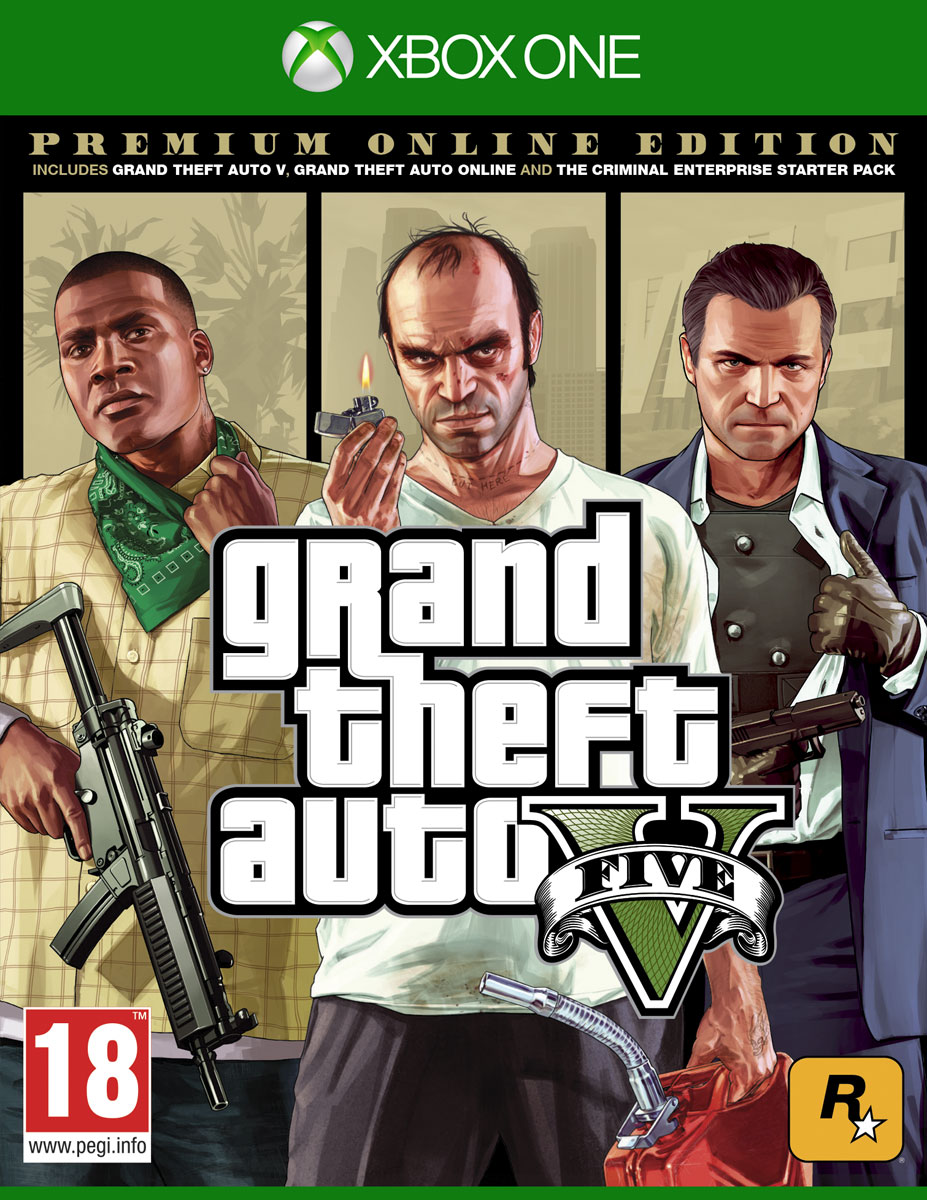 Zakazat.ru Grand Theft Auto V. Premium Online Edition (Xbox One)