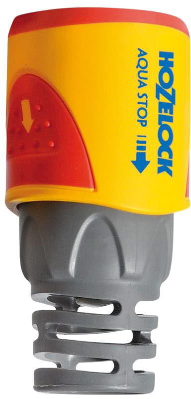 Коннектор HoZelock Plus AquaStop, для концов шлангов, 12,5 мм и 15 мм2055Коннектор HoZelock 2055 aquastop Plus (12,5 мм и 15 мм) Подходит для использования со всеми шлангами диаметром 12,5 мм (1/2) и 15 мм (5/8). • Предусмотрен внутренний клапан для блокировки подачи воды в момент отсоединения Внутрненний клапан прекращает подачу воды если аксессуар (например, пистолет-распылитель) отсоединить от шланга. Это избавляет Вас от необходимости ходить к крану, чтобы выключить воду, когда Вы производите смену насадок. Таким образом снижается расход воды на Вашем участке. Система тройной фиксации гарантирует надежность соединения, которая сохраняется при давлении до 10 бар. Коннектор легко использовать, даже если он влажный, этому способствуют две мягкие нескользящие накладки. Плотно сцепляется со шлангом благодаря зубчикам, зажимающим внутреннюю и наружную стороны шланга. Перегибы шланга, повреждения и утечки в точке соединения с фитингом практически исключены, благодаря оригинальному гибкому хвостовику. Все внутренние детали выполнены из сверхпрочных технических пластмасс, обеспечивающих длительный срок службы с сохранением герметичности. Внутренний корпус изготовлен из сверхпрочного, запатентованного термопластика Dupont Delrin® Acetal, который обладает промежуточными свойствами между пластиком и металлом. Одна часть Коннектора с зубчиками изготовлена из термопластика Dupont Delrin® Acetal с добавлением силикона, чтобы Вы могли присоединить Коннектор к шлангу без усилий, другая часть, зажимающая шланг, изготовлена из гибкого полипропилена-гибкие зубчики устойчивы к постоянному напряжению и не допускают повреждения конца шланга. Внешний корпус выполнен из АБС-пластика, одновременно прочный и максимально комфортный для рук.
