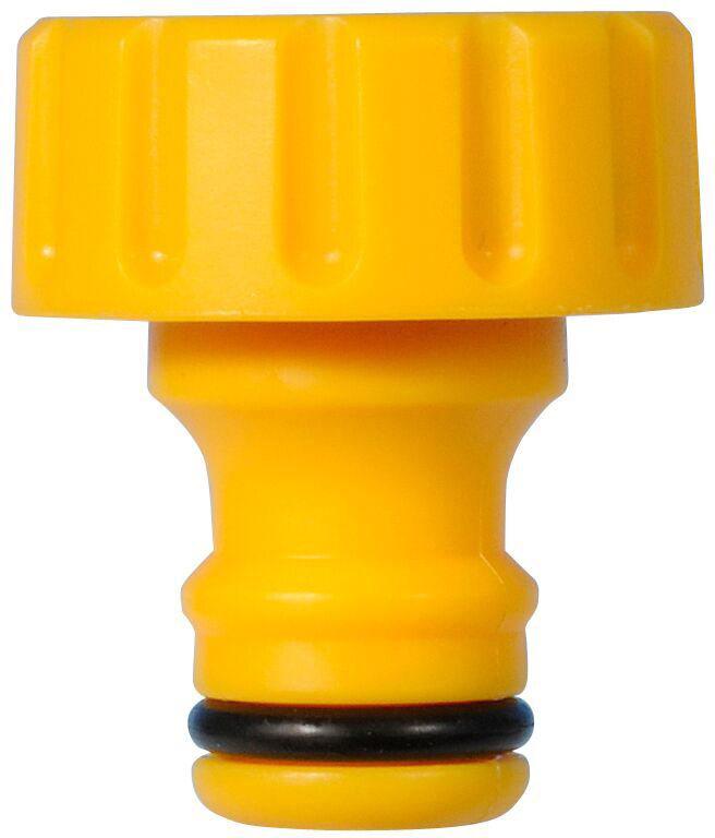 Коннектор HoZelock, для крана вне помещений, внутренняя резьба 3/4, 19 мм коннектор пружинный для шланга truper 3 4