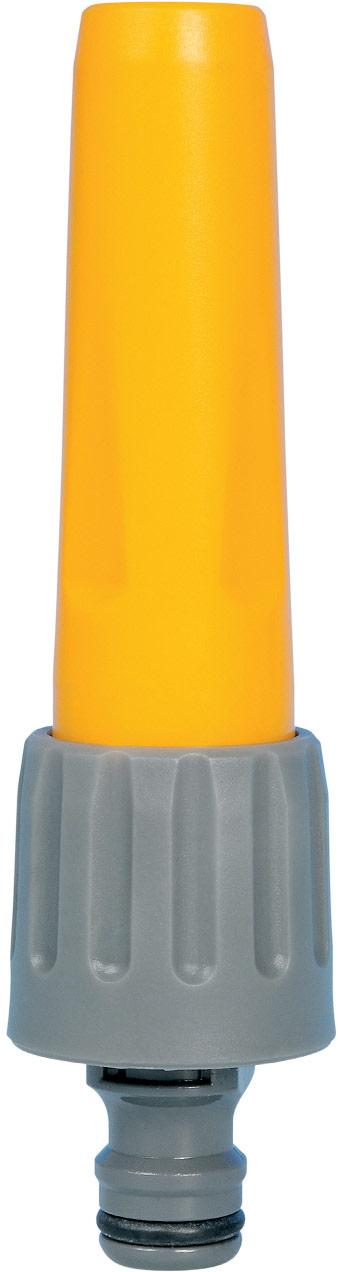 """Наконечник для шланга HoZelock 2292  Регулировка потока от струи до мелкого разбрызгивания • Наконечник присоединяется с помощью универсального коннектора с наружной резьбой (""""папа"""") для конца шланга, подходит ко всем фитингам из каталога HoZelock. • Изготовлен из высококачественного пластика для максимальной прочности Идеально подходит для очистительных работ на Вашем участке. Для того, чтобы поменять режим полива, просто поверните головку Наконечника-от позиции """"выкл"""" до режима мощной струи и далее до режима мелкого разбрызгивания."""