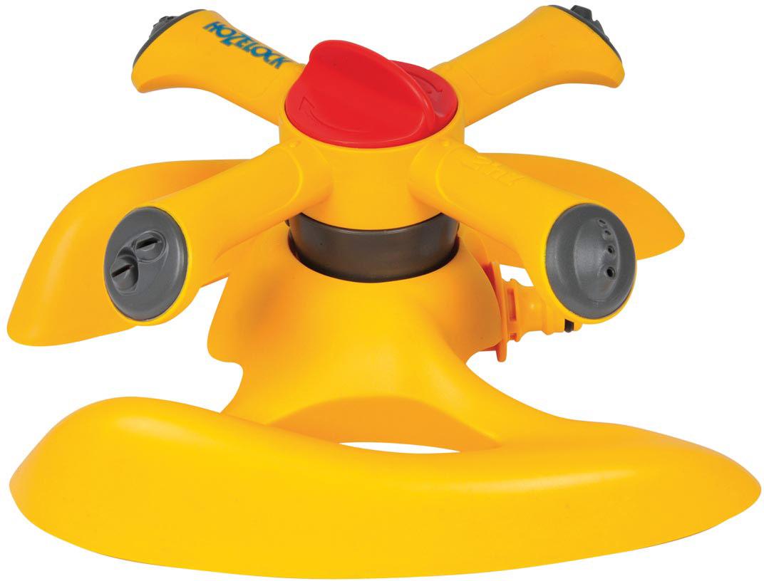 Дождеватель-ороситель HoZelock Plus, спринклерный круглый, 254 м ороситель водяной спринклерный truper ротационный с 3 разбрызгивателями
