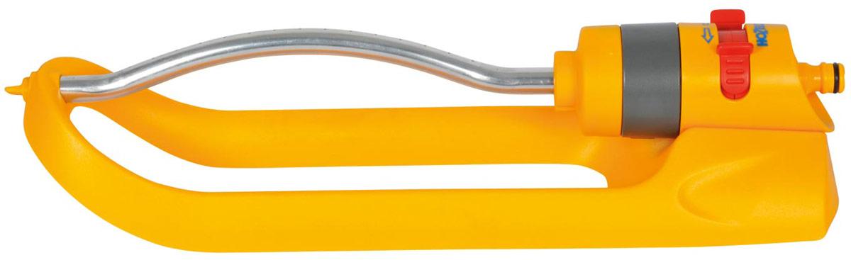 Дождеватель-ороситель HoZelock Plus, спринклерный квадратный, 180 м ороситель водяной truper импульсный