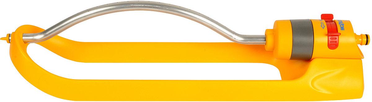 Дождеватель-ороситель HoZelock Plus, спринклерный квадратный, 260 м2975Дождеватель-ороситель HoZelock 2975 спринклерный квадратный Plus 260 м Регулируемый маятниковый ороситель с водяным приводом для полива прямоугольной территории площадью до 260 квадратных метров. Превосходно подходит для орошения газонов и укоренившихся растений. Специальная конструкция и 20 водяных струй позволяют на 100% равномерно полить всю зону охвата вне зависимости от давления воды (от 1 до 10 бар). Возможность полива части зоны охвата (определить территорию полива можно при помощи простого в использовании регулятора, расположенного на корпусе распылителя). Распылитель устанавливается на салазках, обеспечивающих устойчивость на газоне или бордюре.Чрезвычайно надежная зубчатая конструкция водяного привода, которая работает даже при минимальном давлении воды.