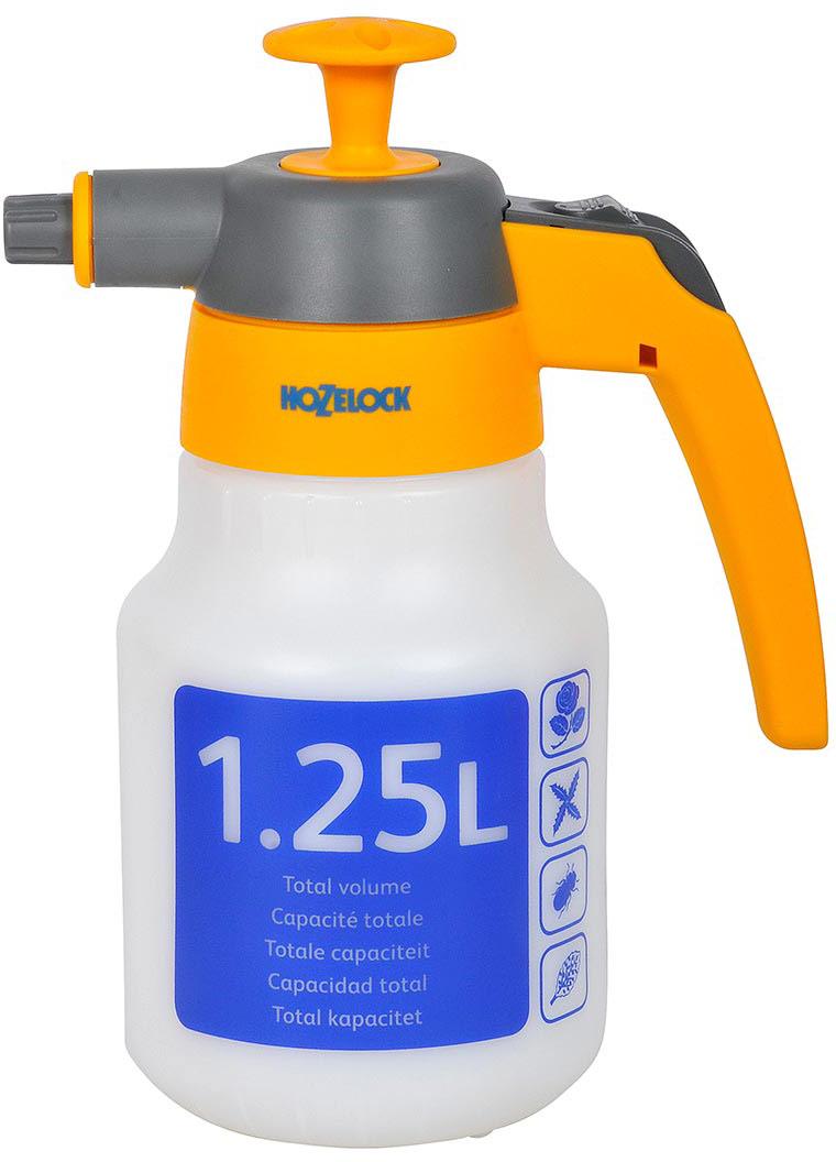 Опрыскиватель HoZelock 4122 1,25 л предназначен для работ внутри помещений (например, для увлажнения одежды при глажении, опрыскивания комнатных растений, домашних животных).  Легкий. Простой в использовании. Блокирующийся во включенном/выключенном положении рычаг распыления. Широкая горловина для удобного залива и слива жидкости.