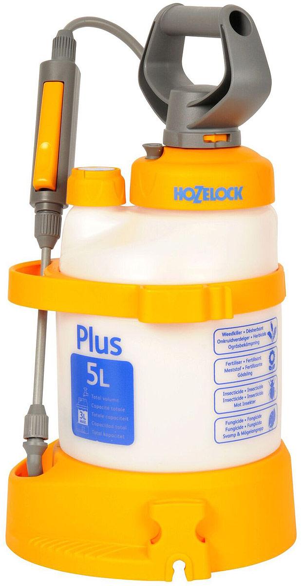 Опрыскиватель HoZelock Plus, 5 л4705Опрыскиватель HoZelock 4705 Plus 5 л многофункциональный и эффективный опрыскиватель для обработки садовых растений инсектицидами, пестицидами, фунгицидами и водорастворимыми удобрениями. Максимальный уровень заполнения – 3 литра (для обеспечения достаточного воздушного пространства в емкости для сжатия под давлением). Коническое сопло с регулировкой подачи раствора от струи до мелкодисперсного распыления («облако»). Встроенный клапан выпуска давления позволяет сбросить избыточное давление, чтобы безопасно снять крышку для залива препарата, а также не перекачать распылитель.Инновационная технология Last Drop – позволяет использовать раствор без остатка, до последней капли.Полупрозрачная емкость с делениями для точного дозирования препарата. Широкая эргономичная рукоятка и платформа для упора ног облегчают накачивание распылителя.Широкая заправочная горловина облегчает залив раствора, а также позволяет хранить внутри распылителя его компоненты.Дозатор с уникальным индикатором раствора позволяет Вам установить, какой препарат Вы используете (фунгицид, гербицид, инсектицид или удобрение), чтобы избавить от необходимости запоминать, что Вы заливали последним. Высокопрочная насадка-копье из стекловолокна. Фиксация потока для продолжительного распыления.Специальная ременная оснастка позволяет выбирать наиболее удобный способ ношения распылителя: на плече, через плечо, а также на спине.
