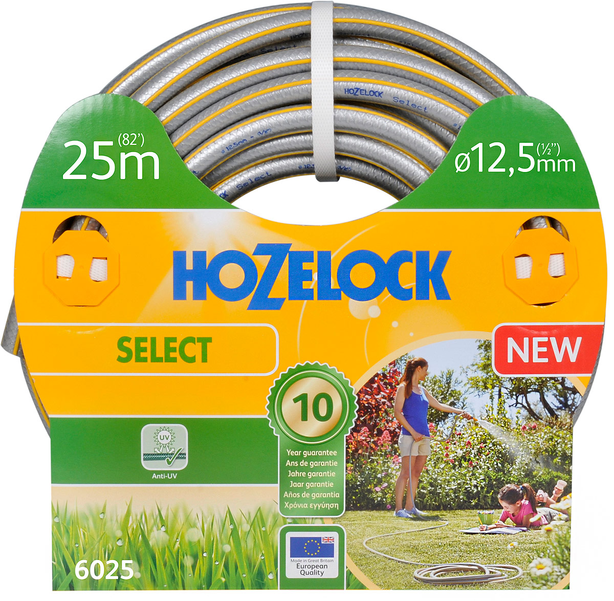 "Шланг HoZelock ""Select"", 12,5 мм 25 м"