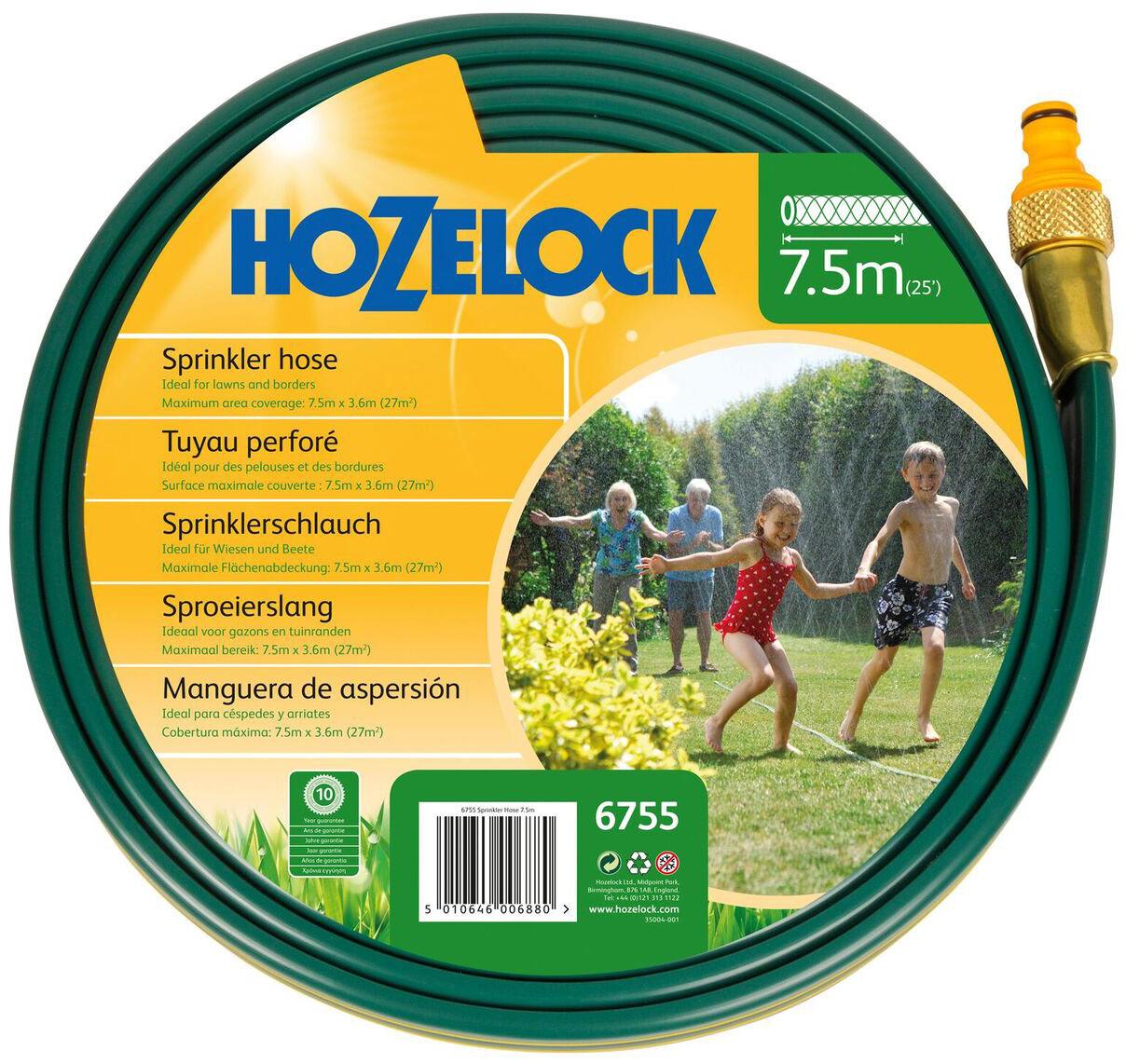 Шланг HoZelock, разбрызгивающий для полива 7,5 м шланги для систем полива