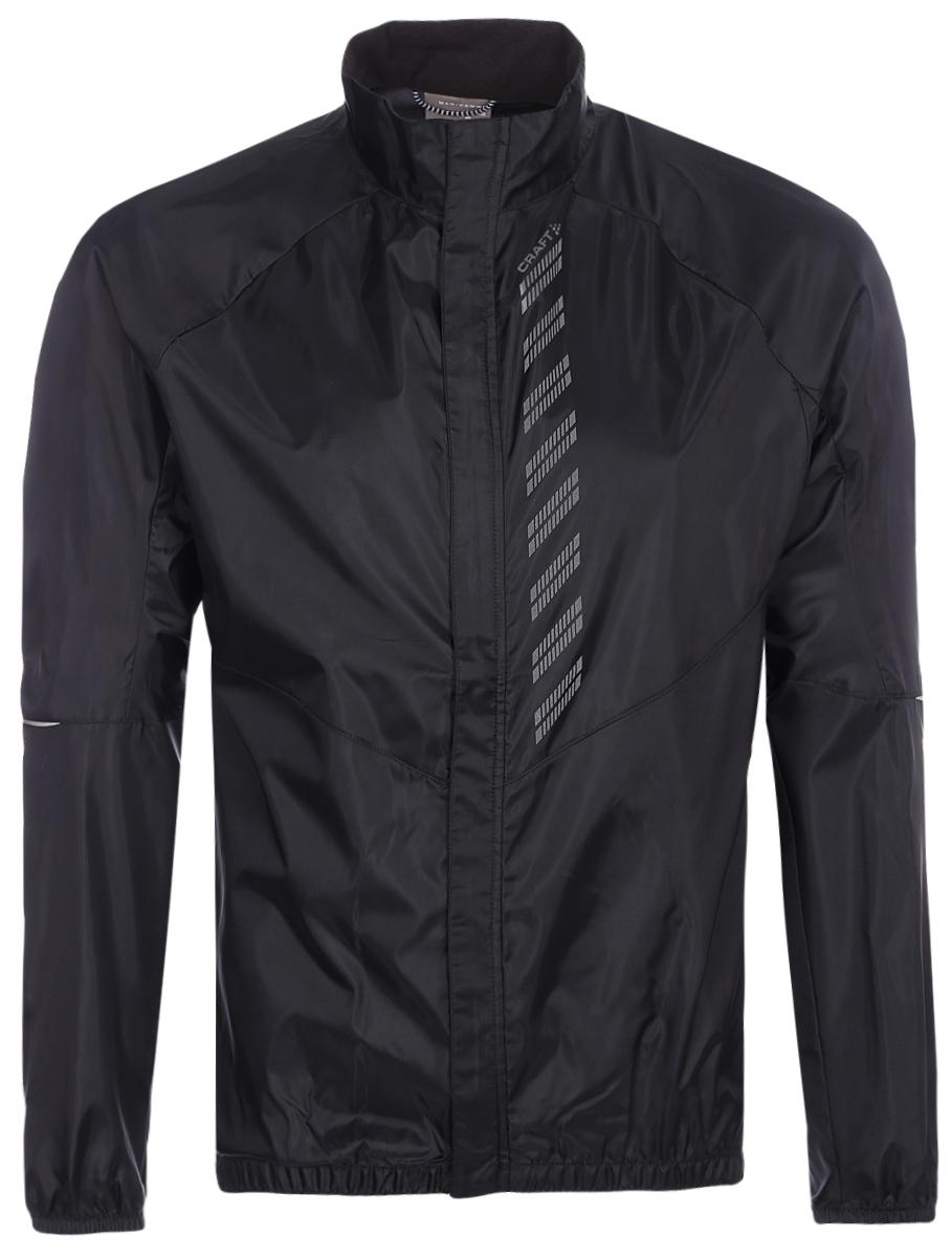 Куртка мужская для велоспорта Craft  Mist Wind , цвет: черный. 1906093/999000. Размер M (48) - Велоспорт