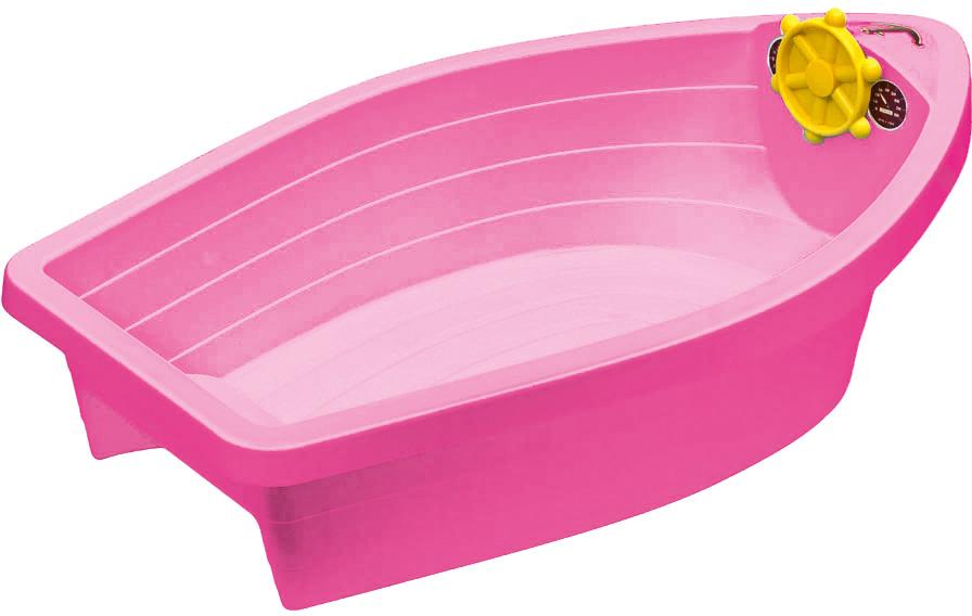 PalPlay Песочница-бассейн Лодочка цвет розовый