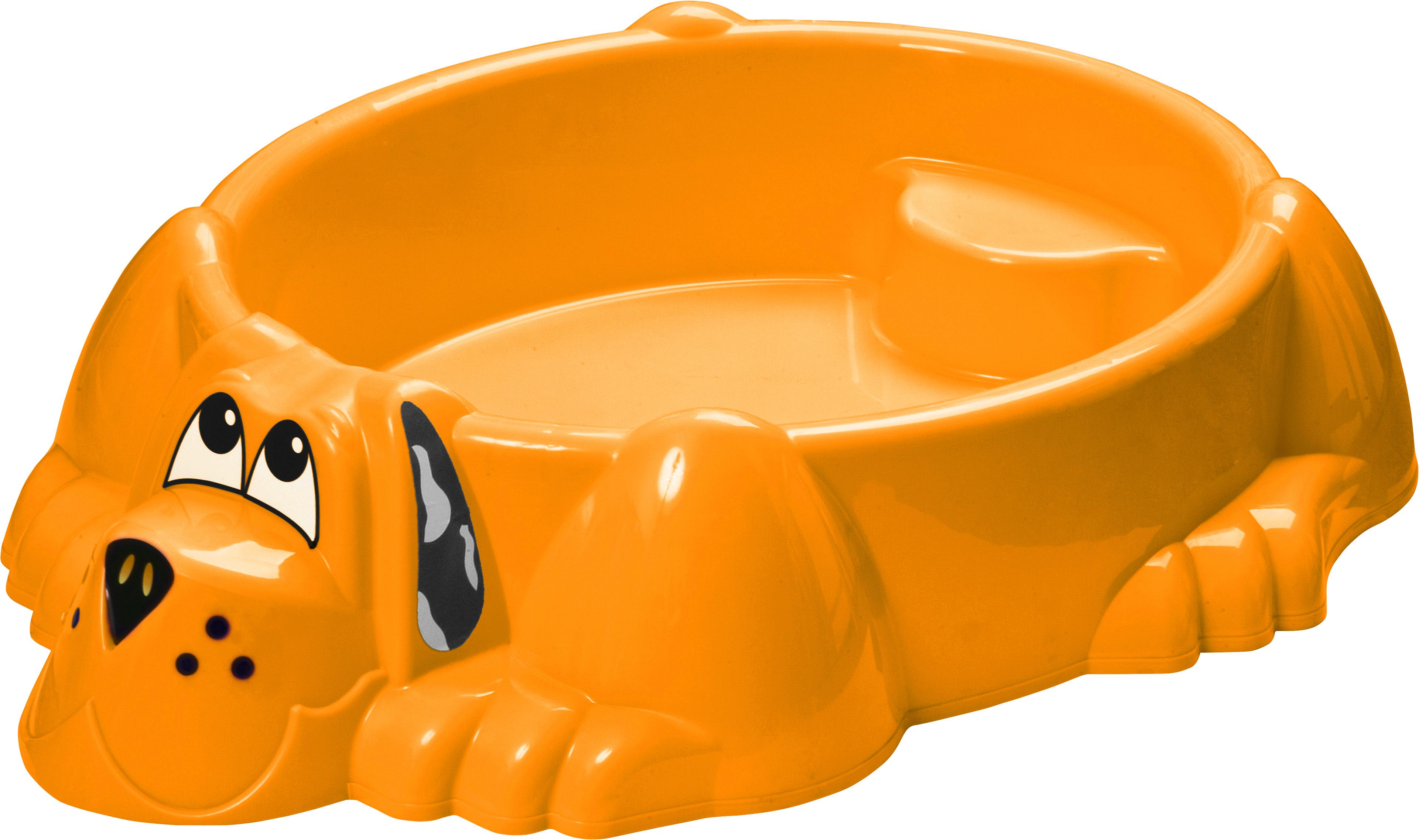 PicnMix Песочница-бассейн Собачка цвет оранжевый