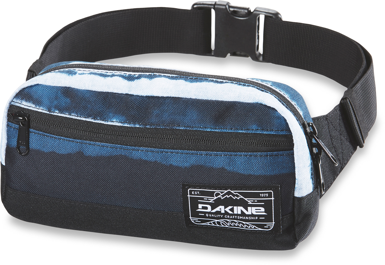 Сумка на пояс Dakine Rad Hip Pack, цвет: синий сумка женская dakine jive chetah