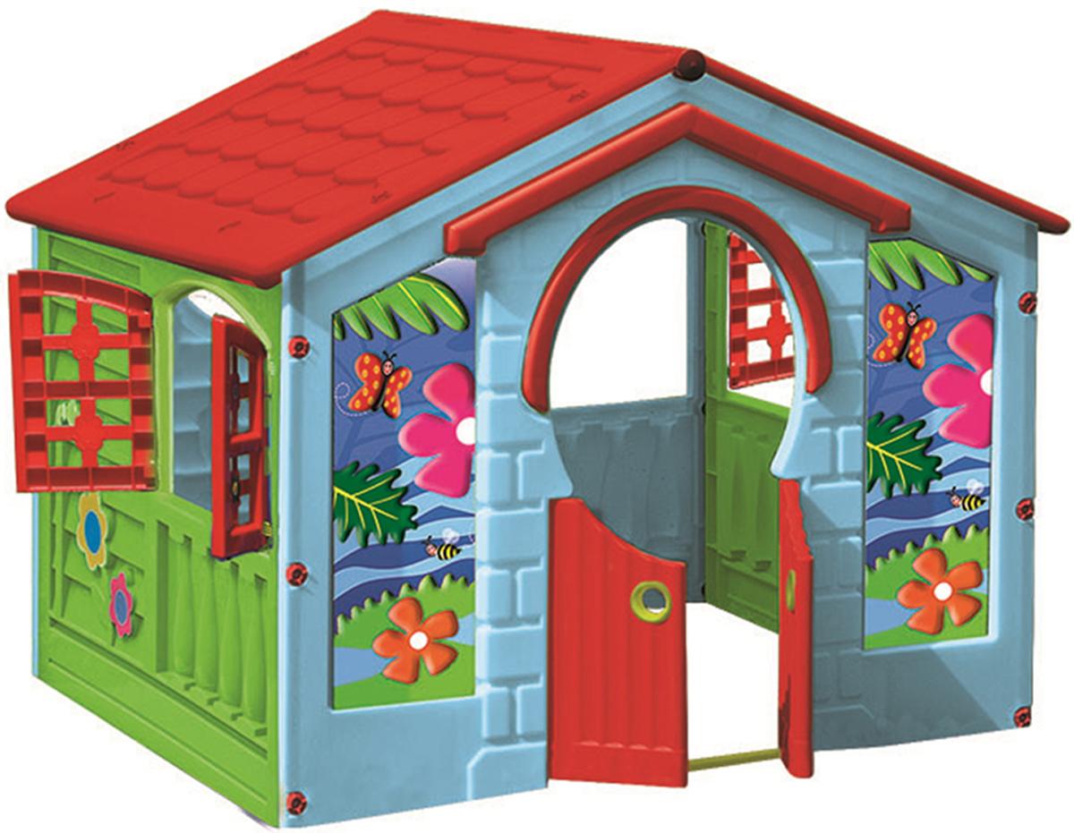 Домик Деревенский PalPlay цвет голубой зеленый красный хочу домик в венгрии в селе цены и фото