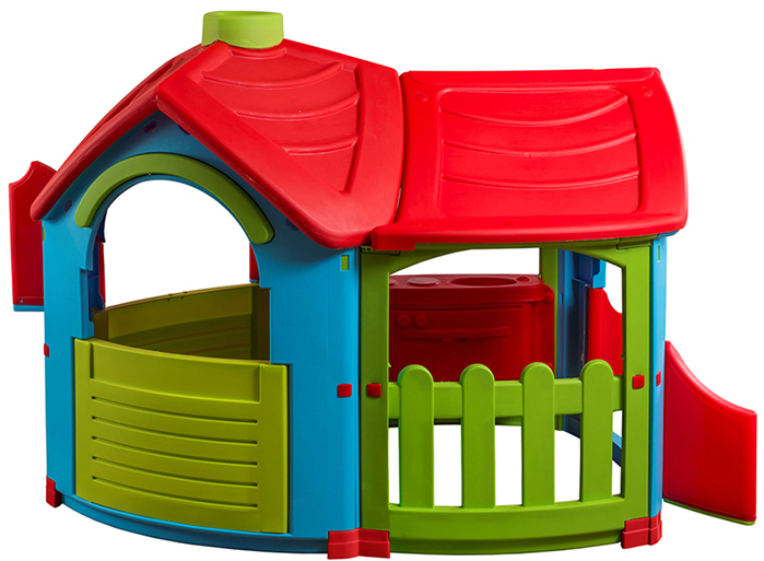 Домик Вилла со светом музыкой и пристройкой PalPlay цвет голубой зеленый красный