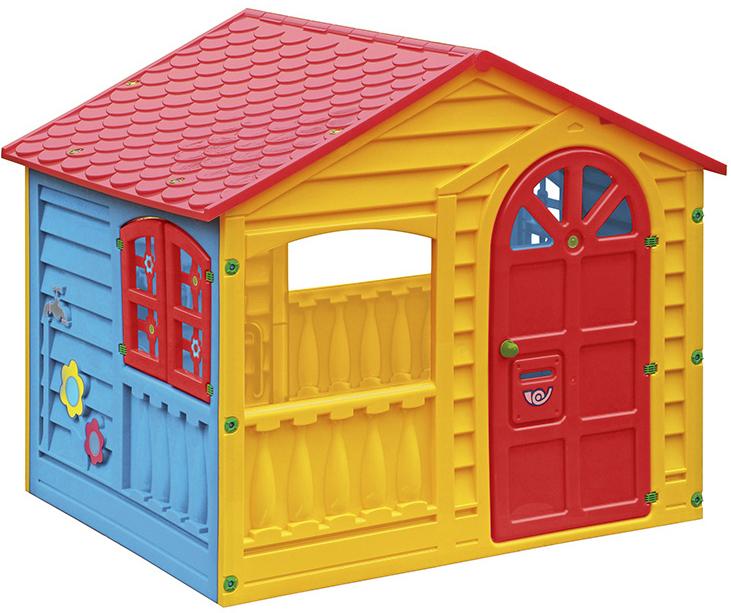 PicnMix Игровой домик со светом и музыкой цвет красный желтый голубой