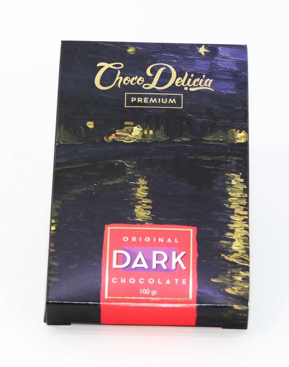 Choco DeliciaПлитка темного шоколада Ван Гог, 100 г