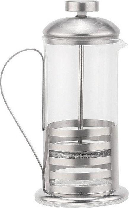 Для заваривания чая и кофе. Состав: нержавеющая сталь высокого качества, термостойкое стекло. Объем: 600 мл. Можно мыть в посудомоечной машине.
