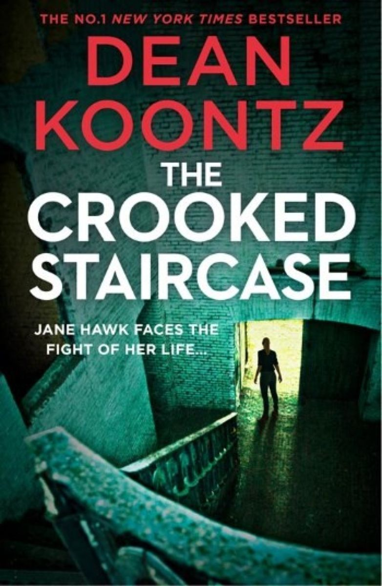 The Crooked Staircase (Jane Hawk Thriller) the garment slinky jane