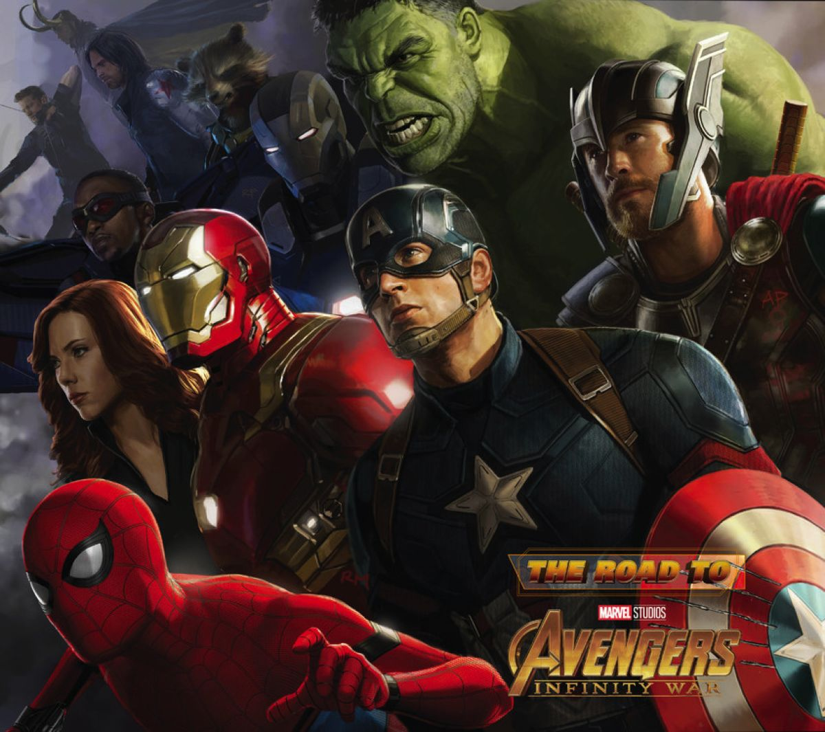 The Road to Marvels Avengers: Infinity War - The Art of the Marvel Cinematic Universe Vol. 2 the avengers omnibus volume 2