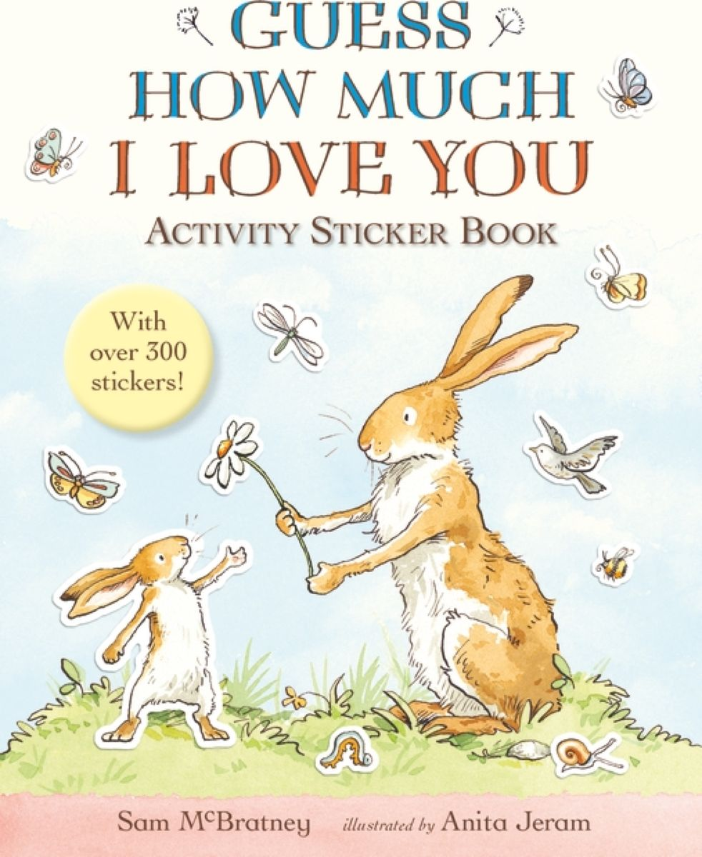 Guess How Much I Love You Activity Sticker Book подушка printio love you to the moon and back