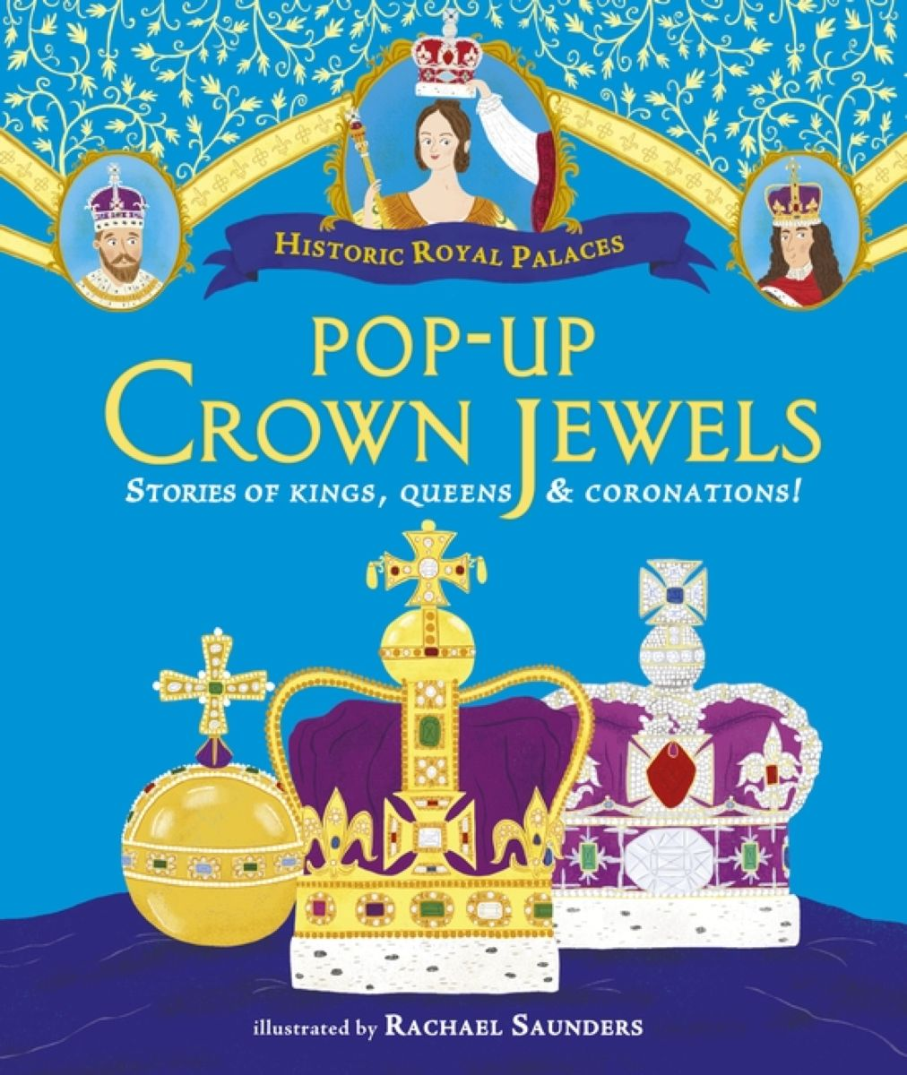 Pop-up Crown Jewels the silver crown