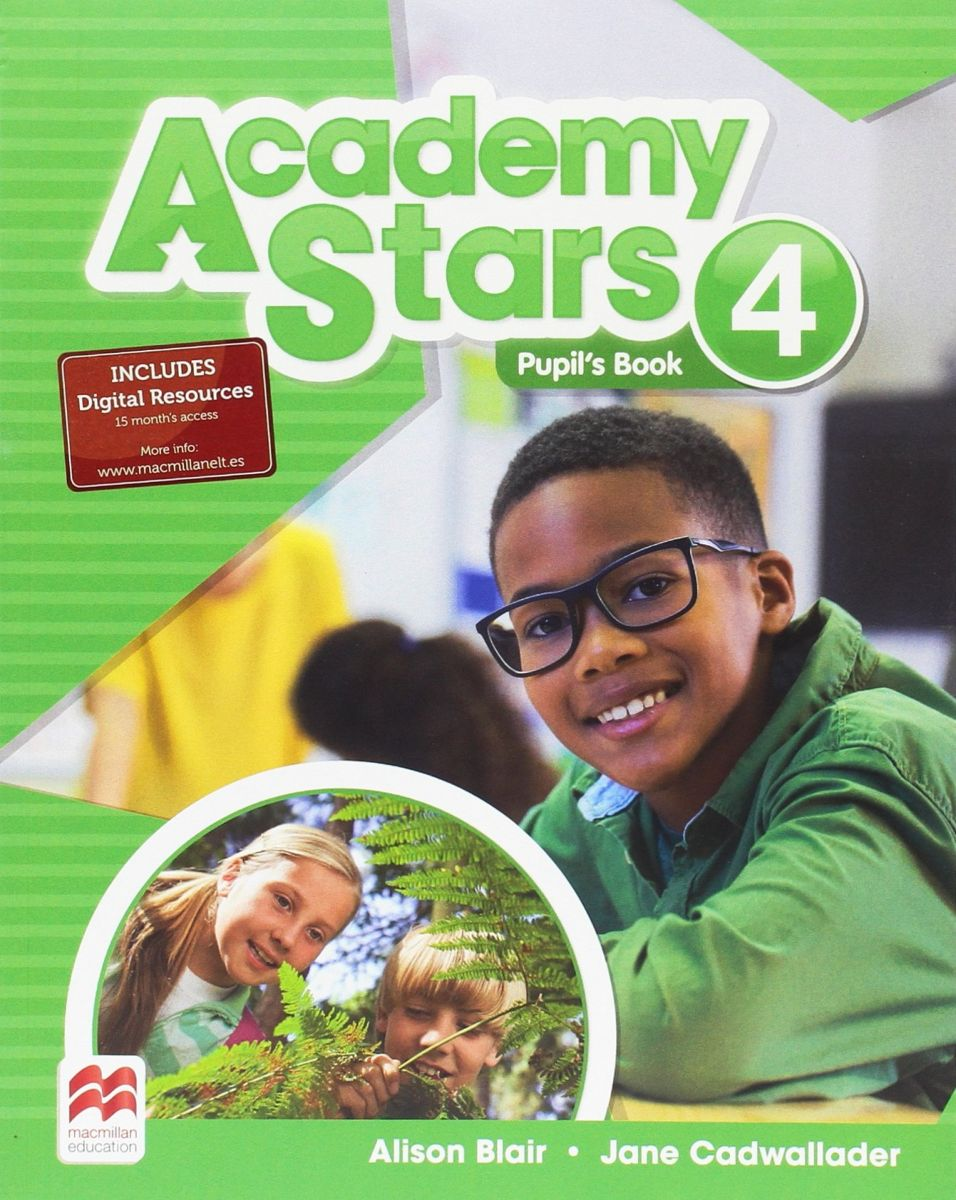 Academy Stars: Level 4: Pupil's Book big book of stars