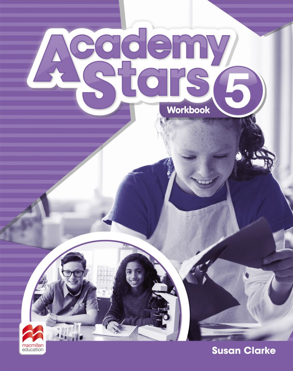 Academy Stars Level 5: Workbook structure of group writing activities in english textbooks