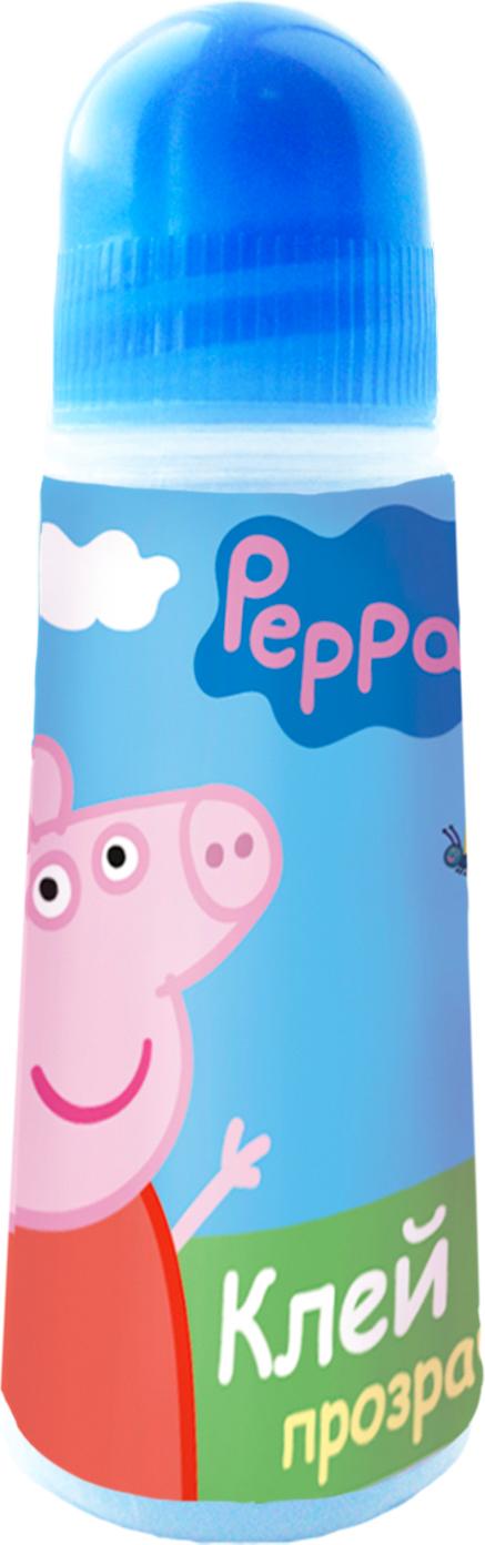 Peppa Pig Клей ПВА Свинка Пеппа 30 мл34035Клей ПВА Свинка Пеппа идеально подходит для детских поделок и аппликаций из бумаги, картона, ткани и фотографий. Клей легко и равномерно наносится, экономично расходуется, быстро и прочно склеивает поверхности, не имеет запаха и безопасен при использовании по назначению. Удобное устройство тюбика максимально облегчает работу с клеем.