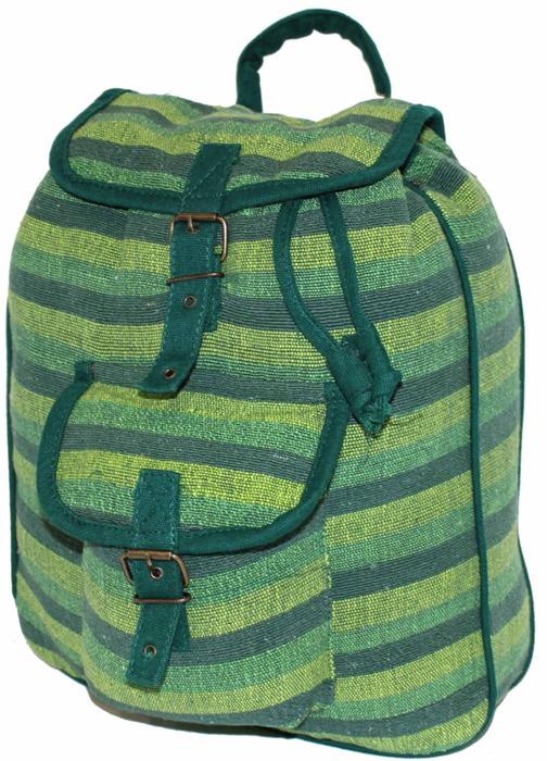 Рюкзак-торба женский Ethnica, цвет: зеленый. 187250